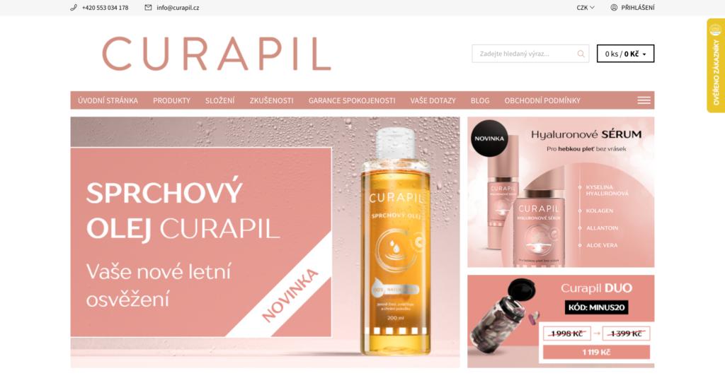 E-shop Curapil